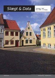 2003-4 slægt & data.pdf - DIS-Danmark