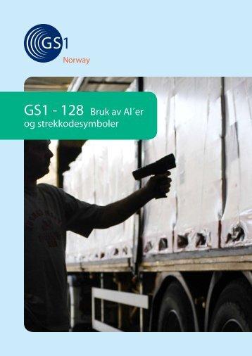 GS1-128 Bruk av AI'er og strekkodesymboler