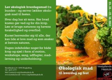 Økologisk mad - Korte kurser 2013