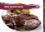 Brun okseskysauce - Oscar A/S