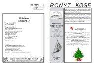 Ronyt nr. 6 December - Køge Roklub