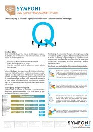 QQMS - QUALITY MANAGEMENT SYSTEM - Symfoni.no
