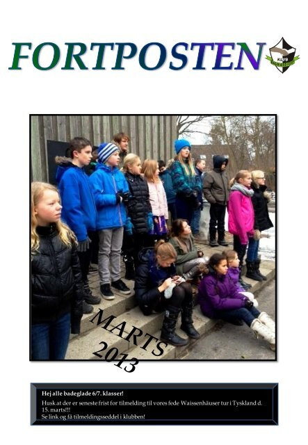 Fortpost for marts 2013