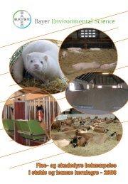 Flue- og skadedyrs bekæmpelse i stalde og tomme kornlagre - 2008