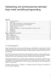 Vejledning om kommunernes tekniske tilsyn med ... - Naturstyrelsen