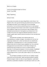 Ethiek voor managers - Margo Trappenburg
