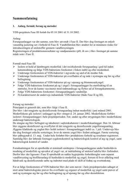 Afslutningsrapporten - AquaCircle