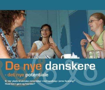 - det nye potentiale - Handicaporganisationer for alle