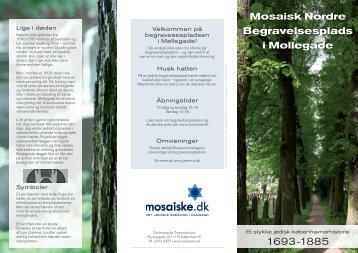 Mosaisk Nordre Begravelsesplads i Møllegade - Det Mosaiske ...