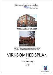 Virksomhedsplan 2012 - KommunikationsCenter Thisted - Thisted ...
