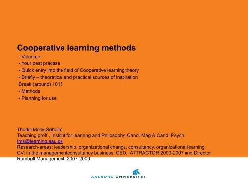 Program - AAU Learning Lab
