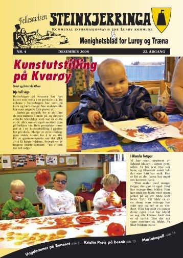 Kunstutstilling på Kvarøy - Lurøy bibliotek
