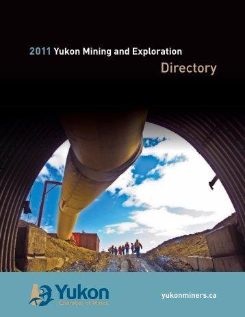 Directory - Yukon Chamber of Mines