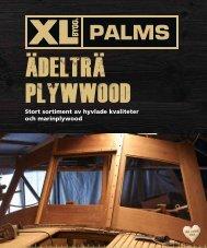 Stort sortiment av hyvlade kvaliteter och marinplywood
