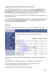 LBF Stamdata for almene boligorganisationer - Landsbyggefonden