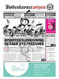 diskotekslovgivning skaber utilfredshed - Københavneravisen