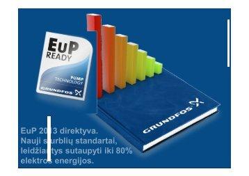 EuP 2013 direktyva. Nauji siurblių standartai, leidžiantys sutaupyti ...
