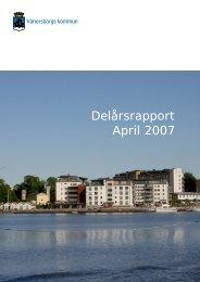 Delårsrapport April 2007 - Vänersborgs kommun
