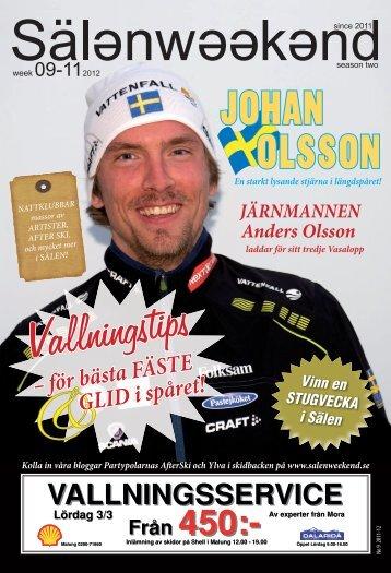 Johan Olsson - SälenWeekend