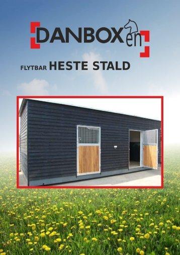 Hestestald og inventar - Danbox Danmark Aps