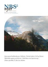 Download - Norsk biokjemisk selskap (NBS)