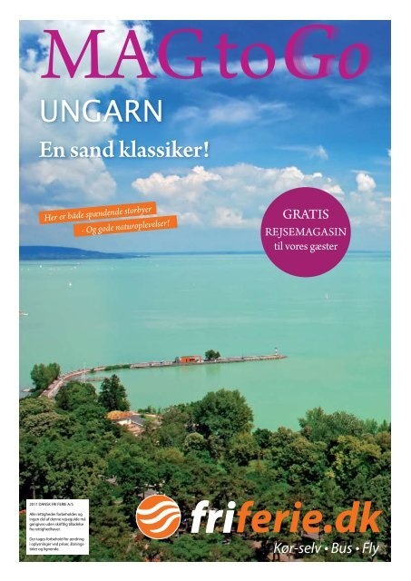 ungarn - Dansk Fri Ferie