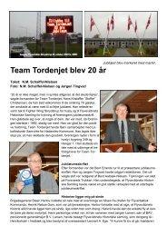 Team Tordenjet blev 20 år - Flyvevåbnets Historiske Samling