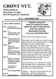 Grønt Nyt nr. 8 DECEMBER 2008.pdf - Spejdernet