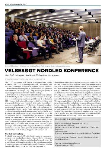 VELBESøGT NORDLED KONFERENCE - Dansk Center for Lys