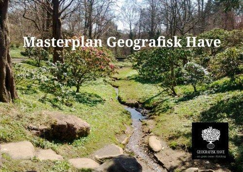 Masterplan Geografisk Have - Kolding Kommune