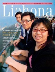 Juni 2008 Liahona