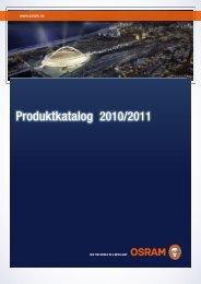 Produktkatalog 2010_2011 - Osram