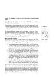 Høring over forslag til fremtidig anvendelse af frekvenser til trådløse ...