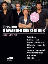 Program Stavanger konSerthuS