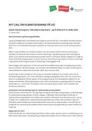 Nyt call om klimatilpasning på vej - TMU 090413 - Rebild Kommune