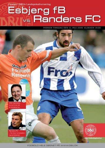 Esbjerg fB vs Randers FC - DBU