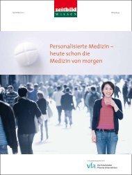 Personalisierte Medizin – heute schon die Medizin von morgen