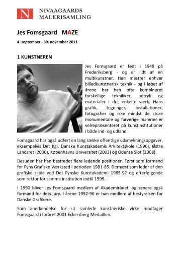 Jes Fomsgaard MAZE - Nivaagaards Malerisamling
