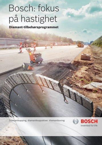 Bosch: fokus på hastighet