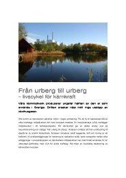 Fördjupad information LCA - OKG AB