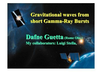 Gravitational Waves from Short Gamma-Ray Bursts