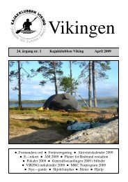 vikingen_2009_april.pdf - Kajakklubben Viking