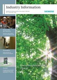 Industry Information online - Siemens