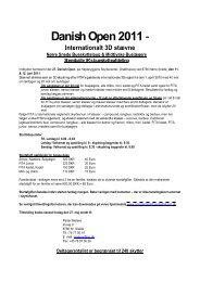 Danish Open 2011-