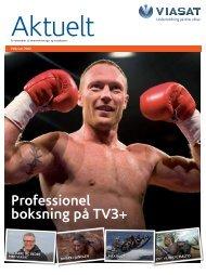 Professionel boksning på TV3+ - Viasat