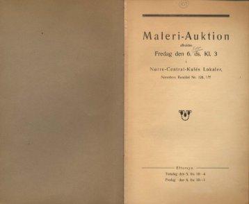 Maleri-Auktion