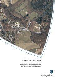 Lokalplan 45/2011