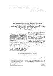 Bekendtgørelse om ændring af bekendtgørelse om ...
