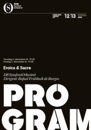 Eroica & Sacre DR SymfoniOrkestret Dirigent: Rafael Frühbeck de ...