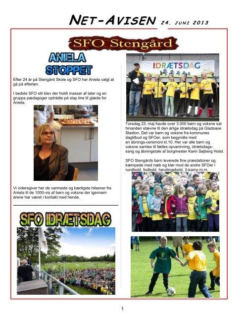 2013 24 juni SFO NetAvis - Stengård Skoles hjemmenside